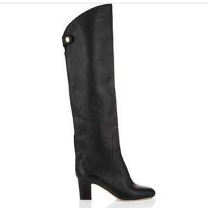 NWT jimmy Choo over-the-knee Minerva black boot